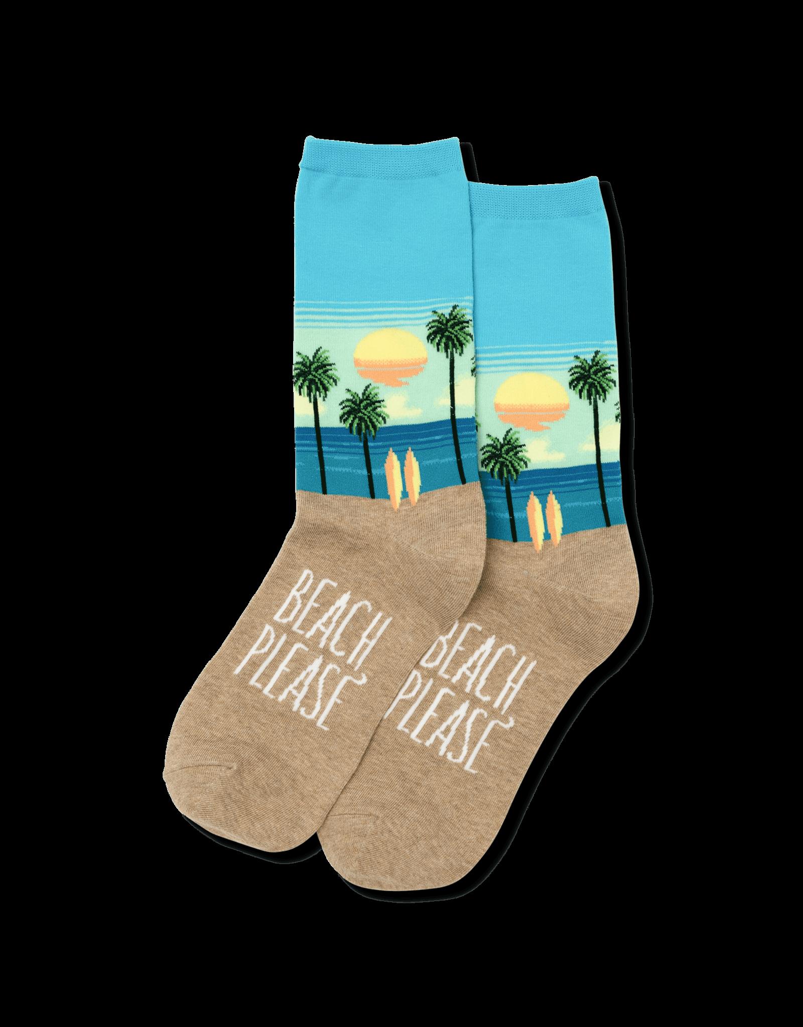 - Beach Please Socks