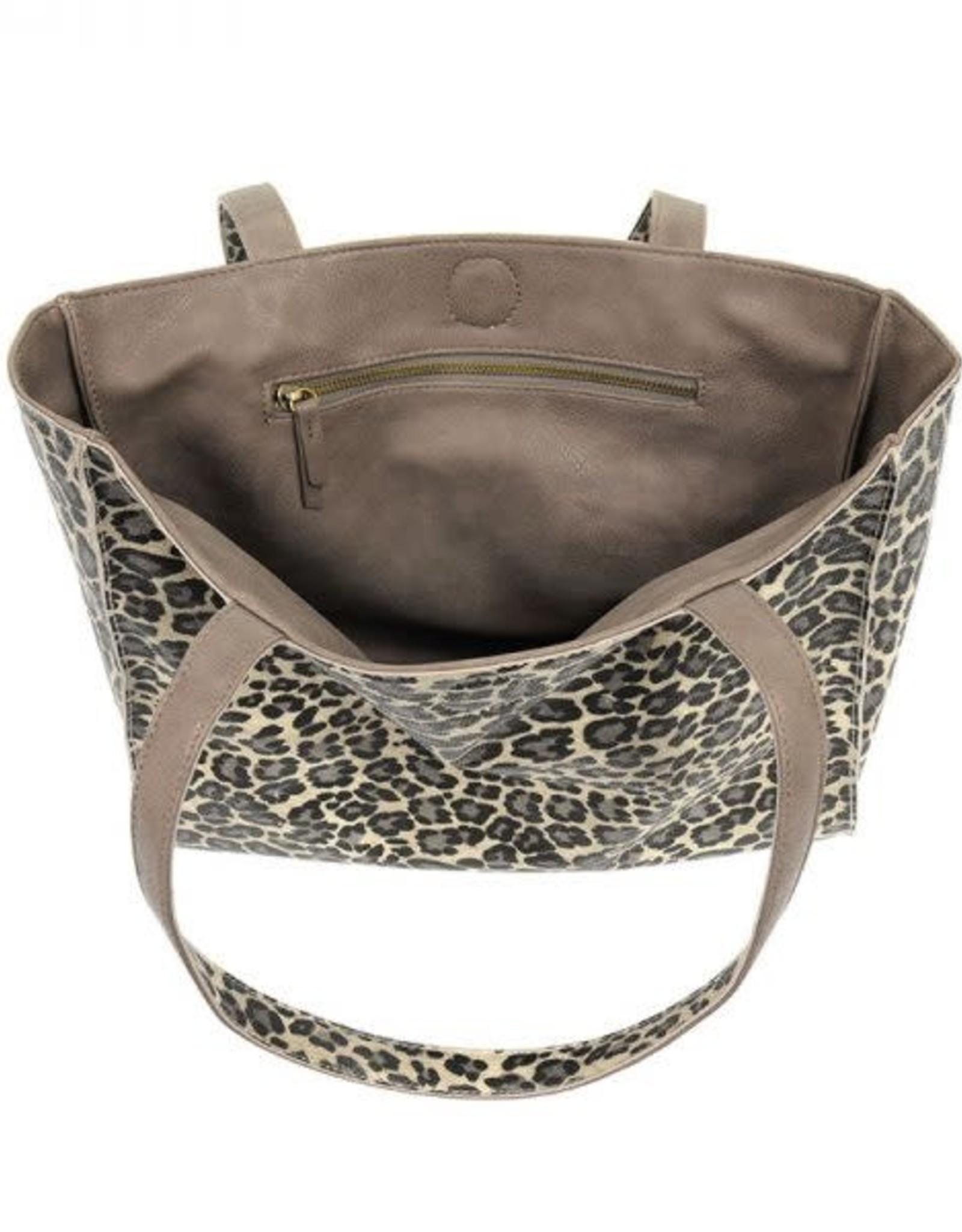 - Grey Leopard/Grey Reversible Tote