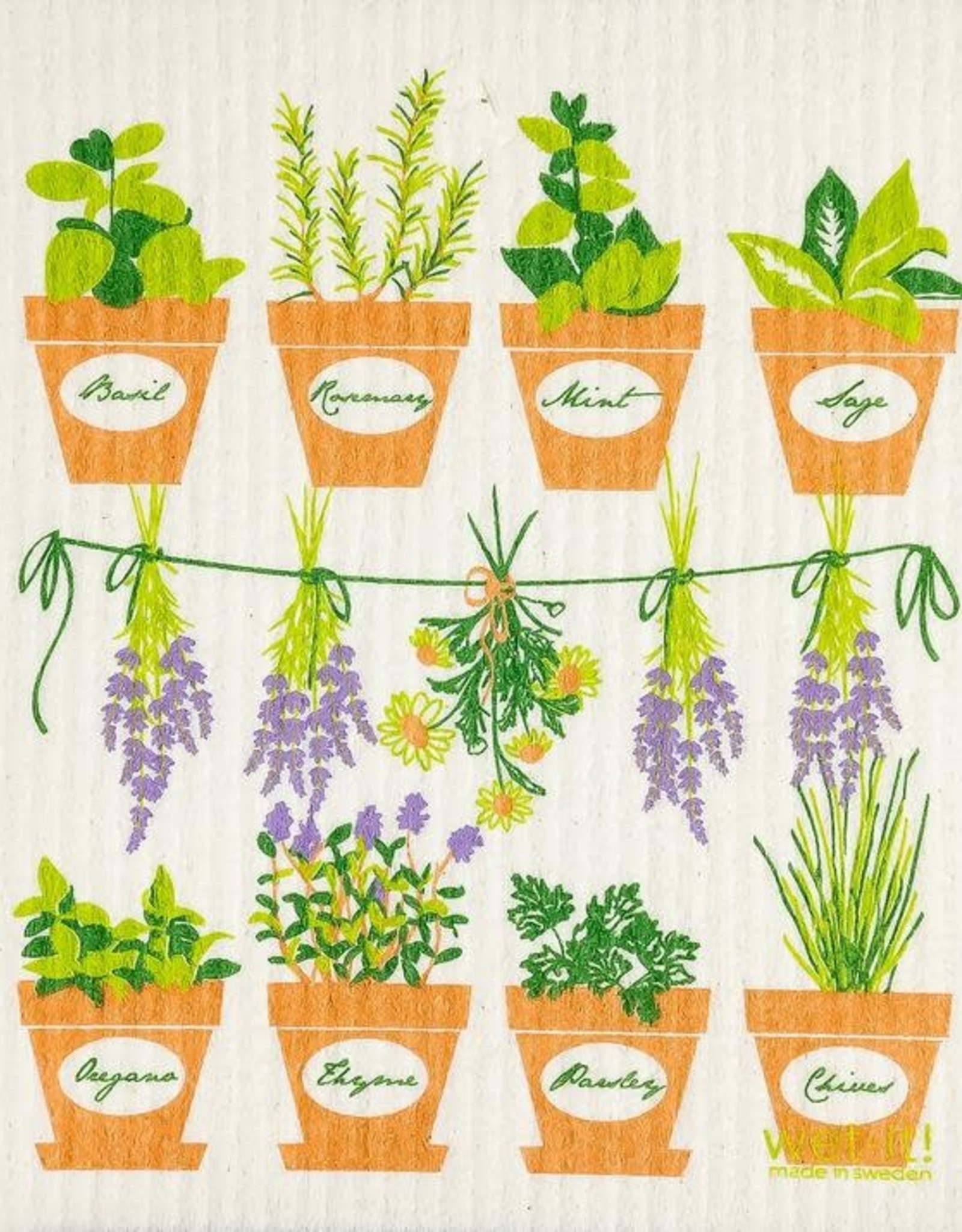 - Fresh Herbs Wet-It Cloth