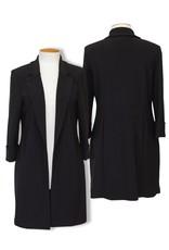 Joseph Ribkoff Black Long Blazer Jacket