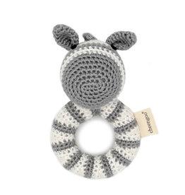 - Zebra Ring Rattle