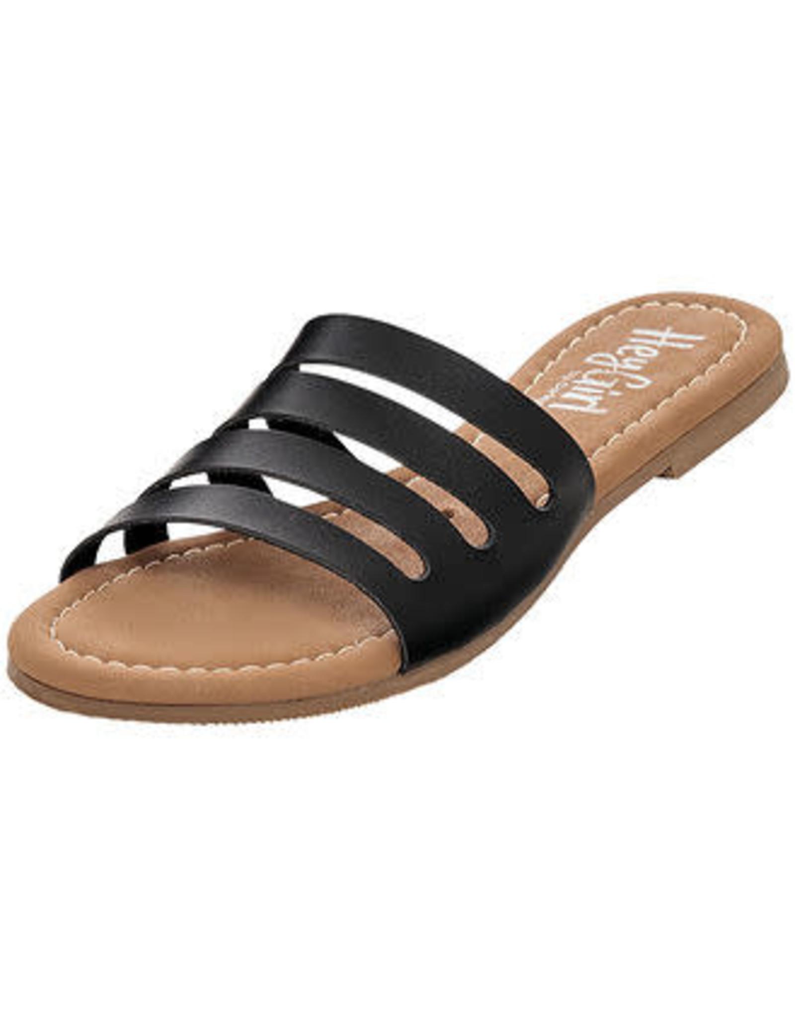 - Black Slip-On Sandal
