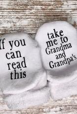 - Take Me to Grandma & Grandpa's 6-18mo. Baby Socks