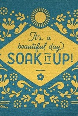 - It's A Beautiful Day Soak It Up Cloth