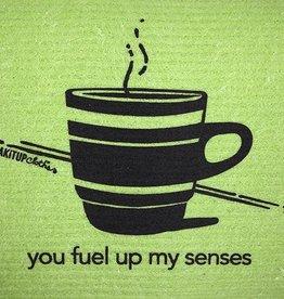 - You Fuel Up My Senses  Soak It Up Cloth