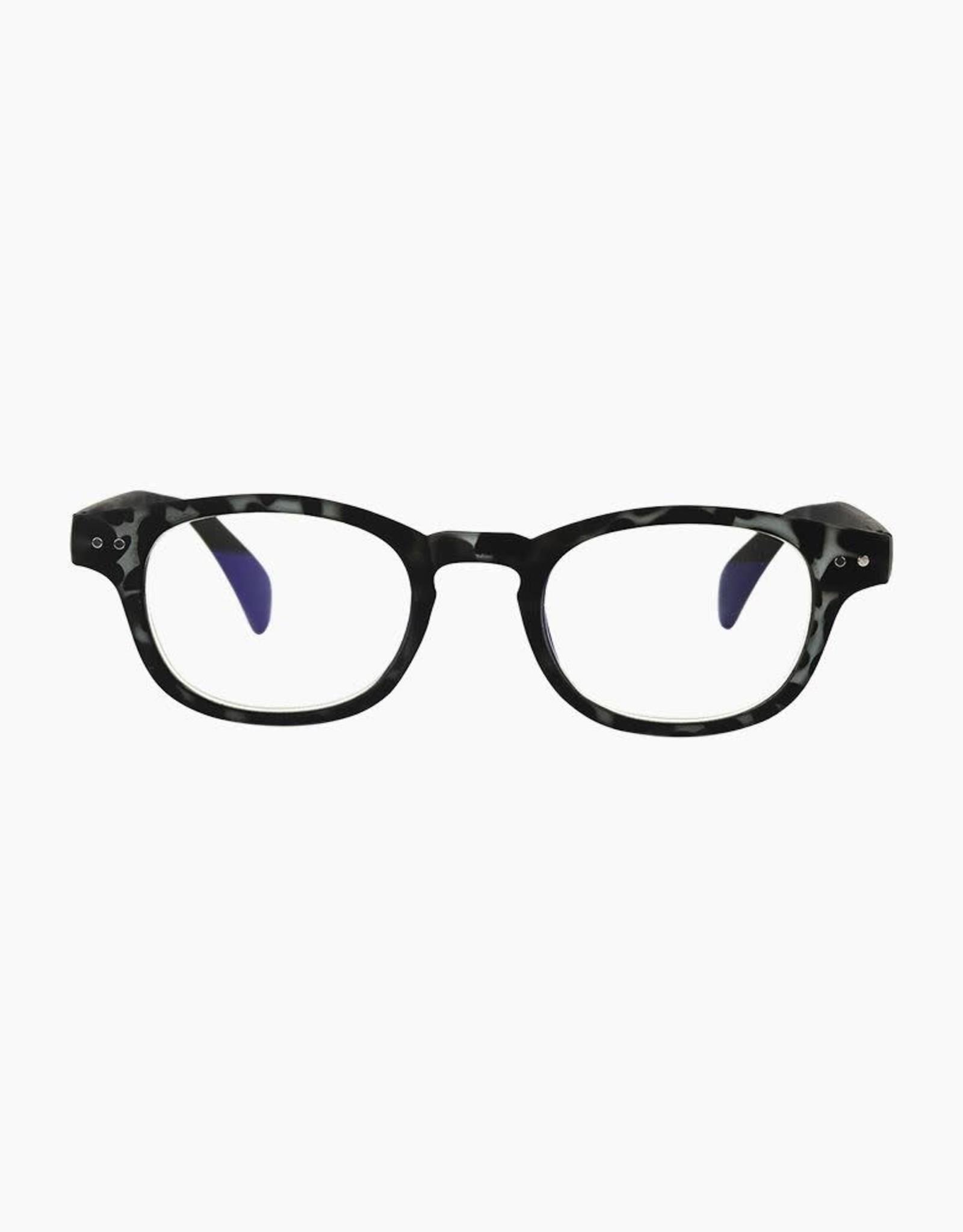 - Downtown Tortoise Blue Light Glasses
