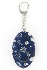- Navy Floral Floral Mini Alarm