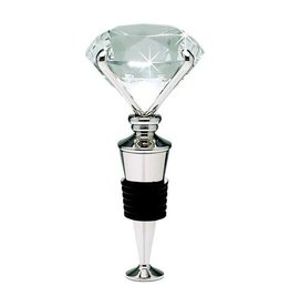 Silver Diamond Wine Stopper