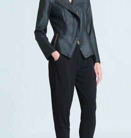 - Black Liquid Leather Jacket
