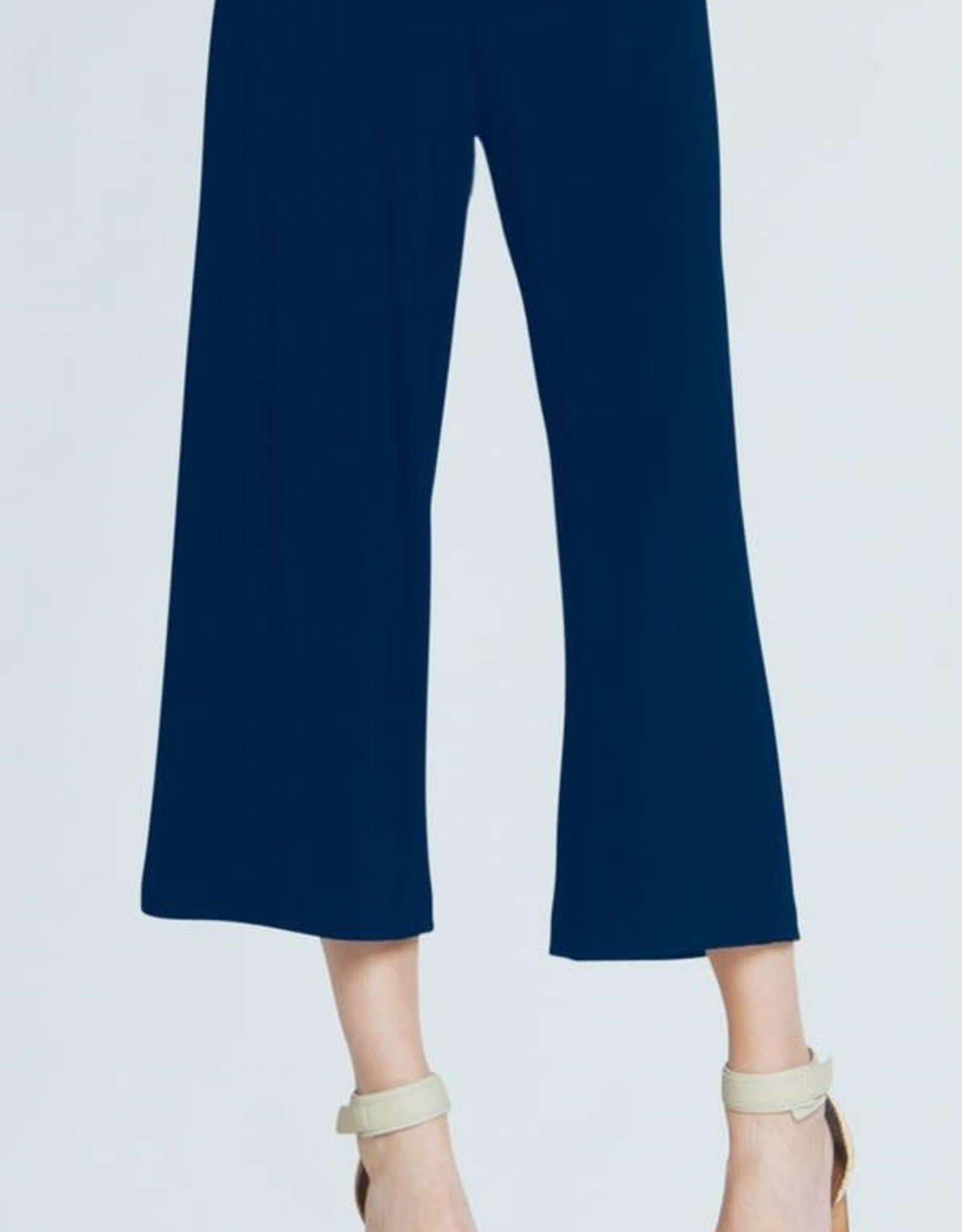 - Navy Pull-On Gaucho Pant