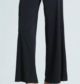 - Black Pull-On Palazzo Pant