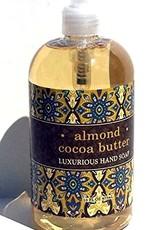 - Almond Cocoa Butter 16oz Liquid Soap