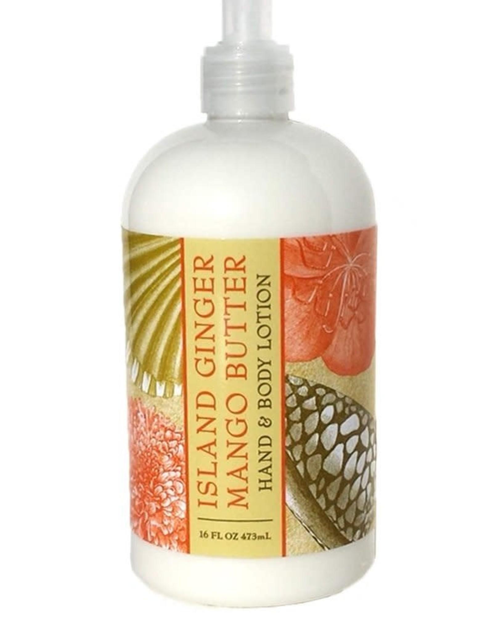 - Island Ginger Mango Butter 16oz Lotion