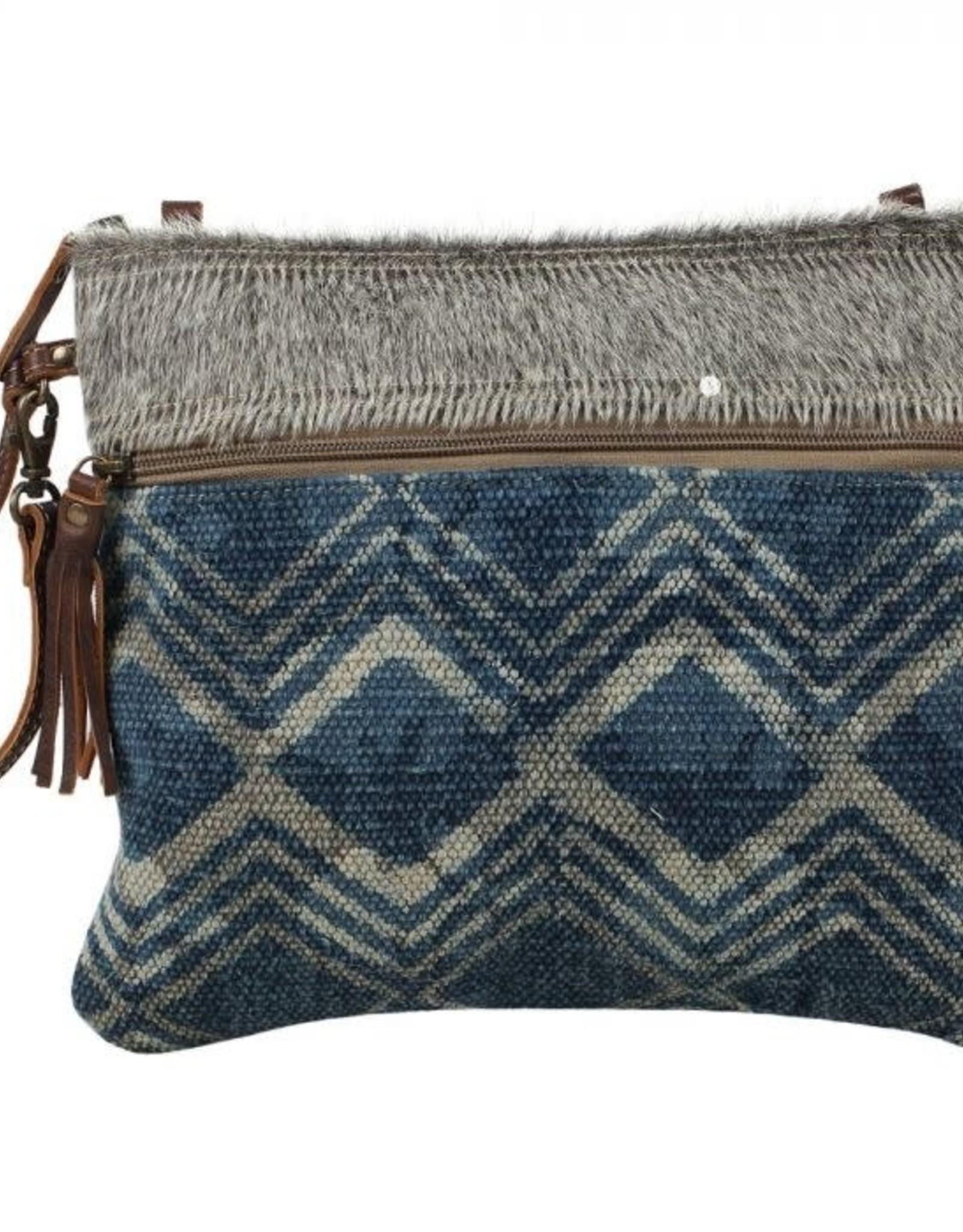 - Floto Blue Small & Crossbody Bag