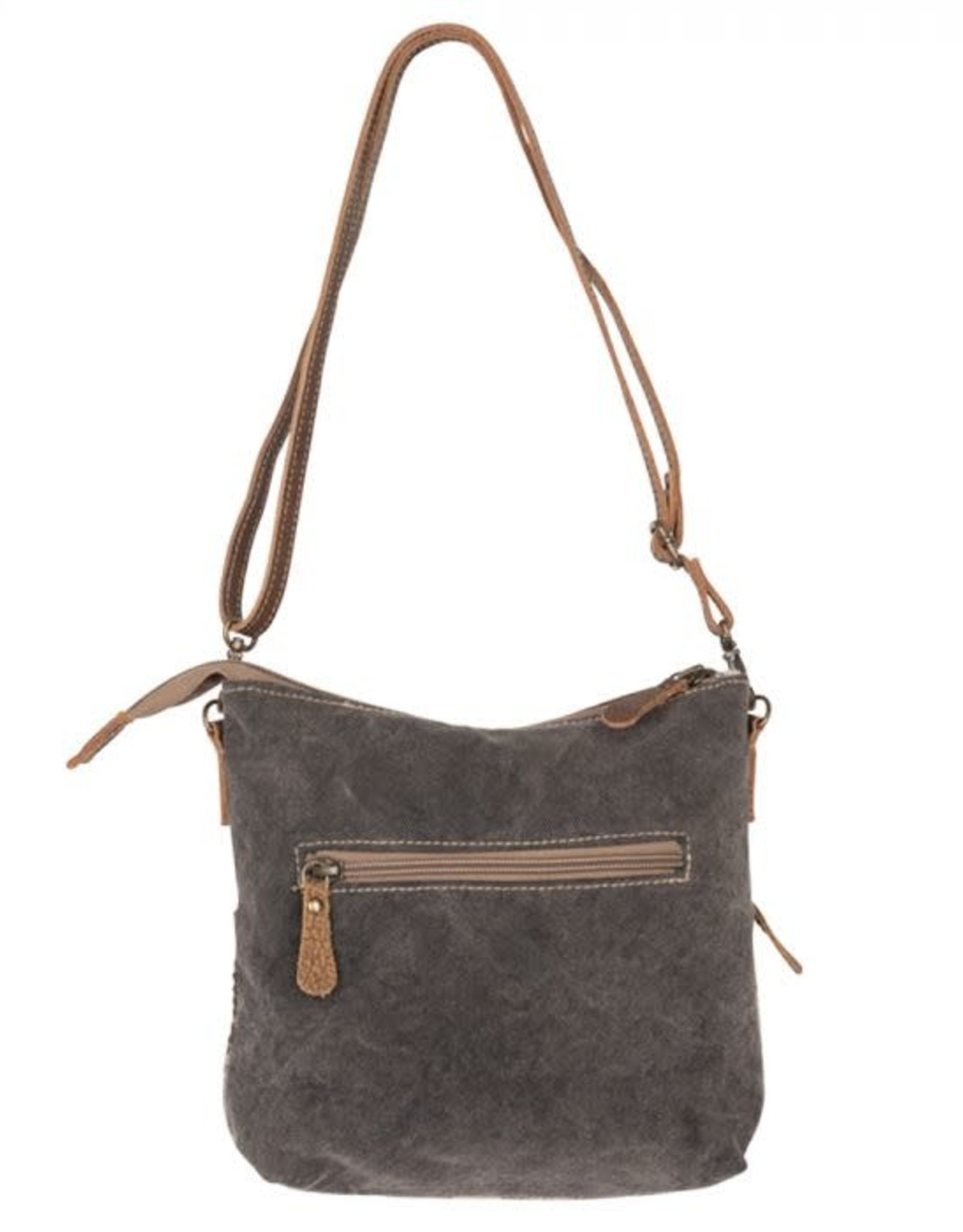 - Coffee Canvas Small & Crossbody Bag
