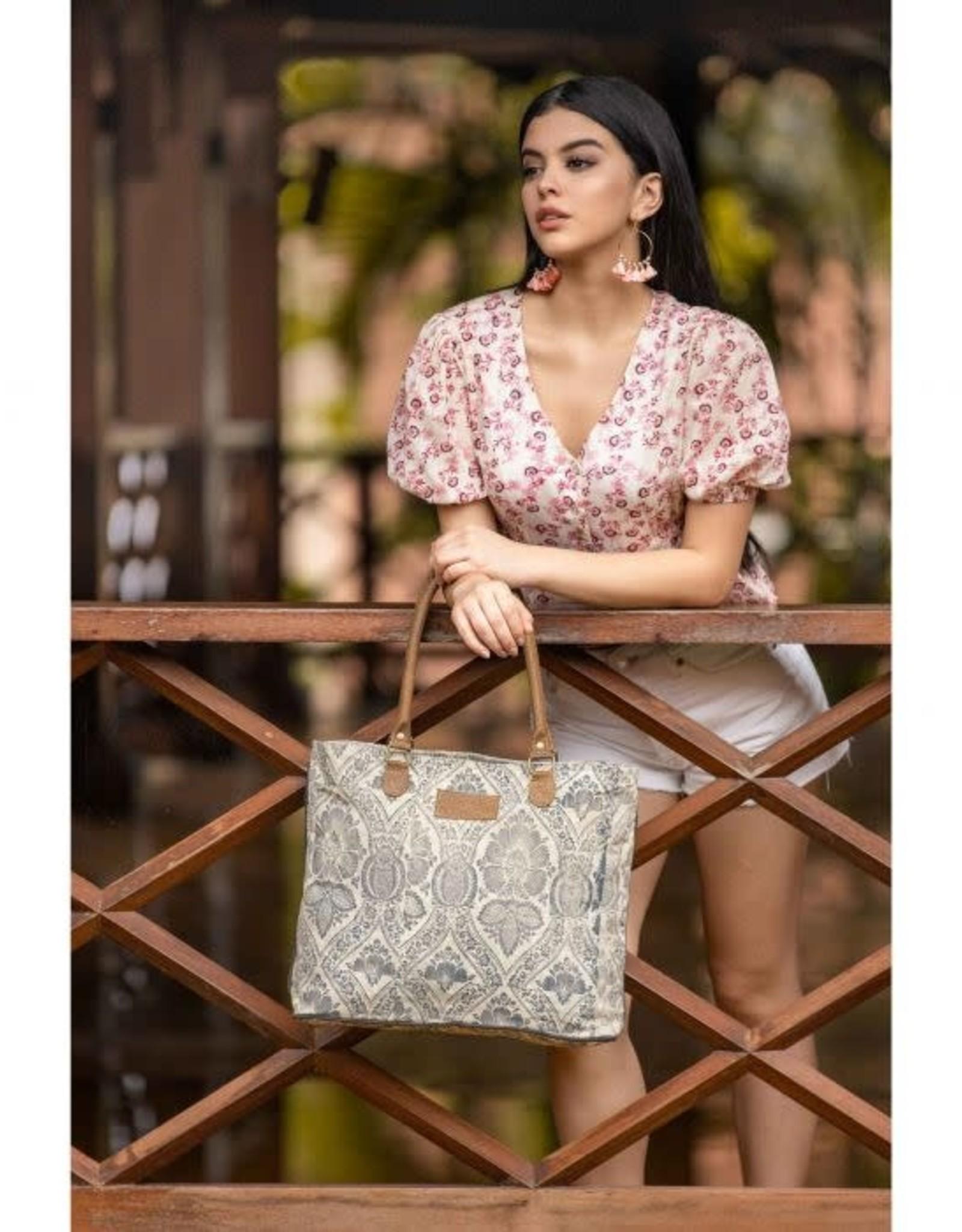 - Winter Moon Tote Bag