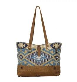- Cloudless Blue Tote Bag