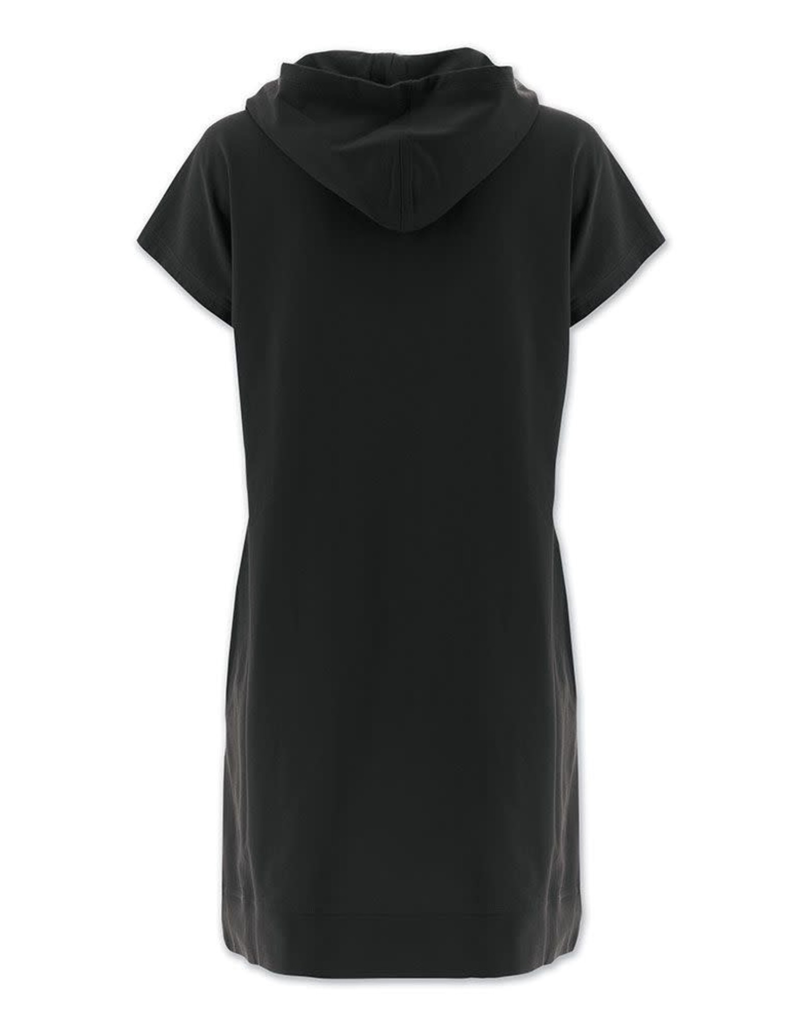 - Black Hoodie Dress w/Pockets