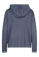 Tribal Blue Hooded Jacket w/Pockets