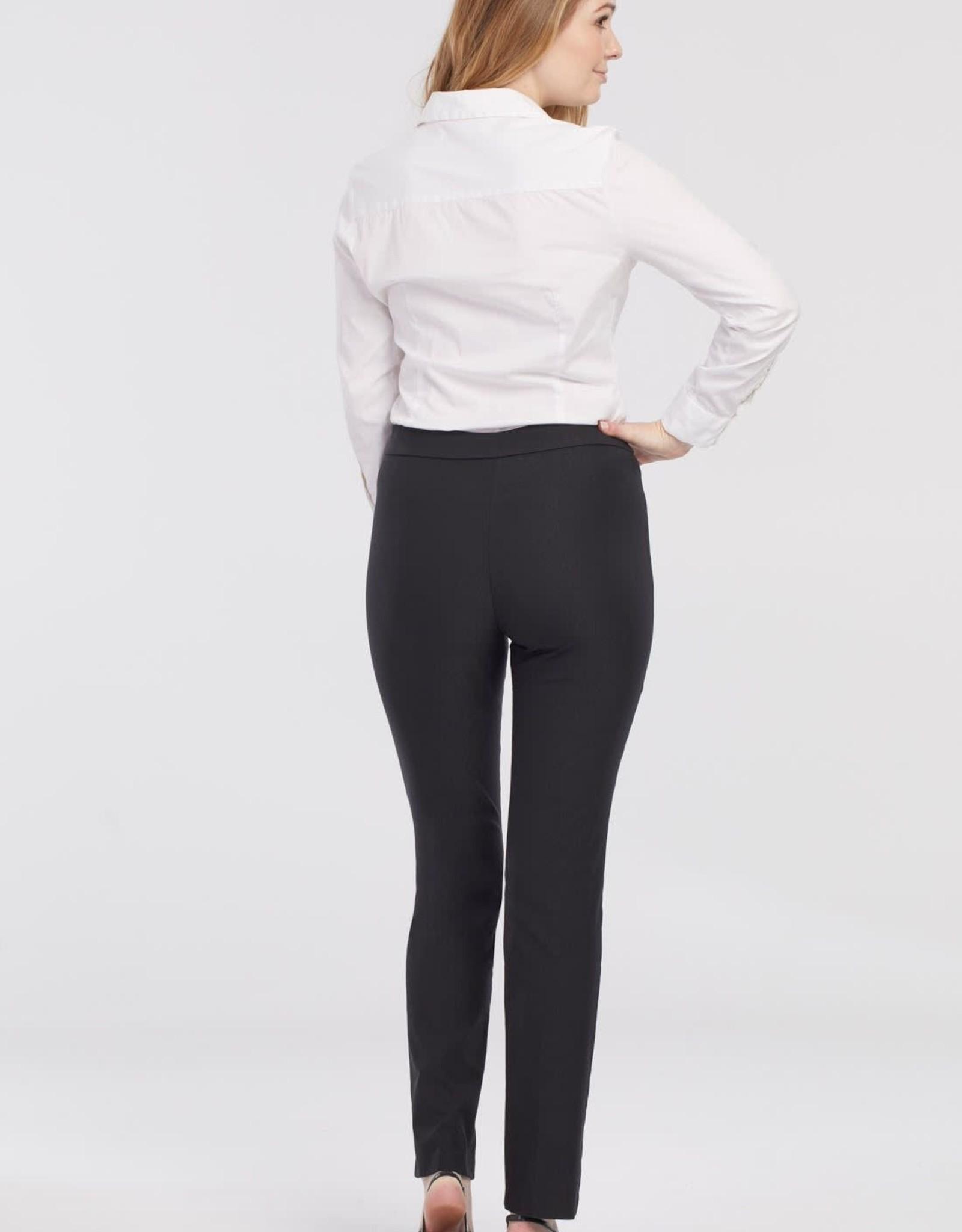 Tribal Black Pull-On Full Length Pant