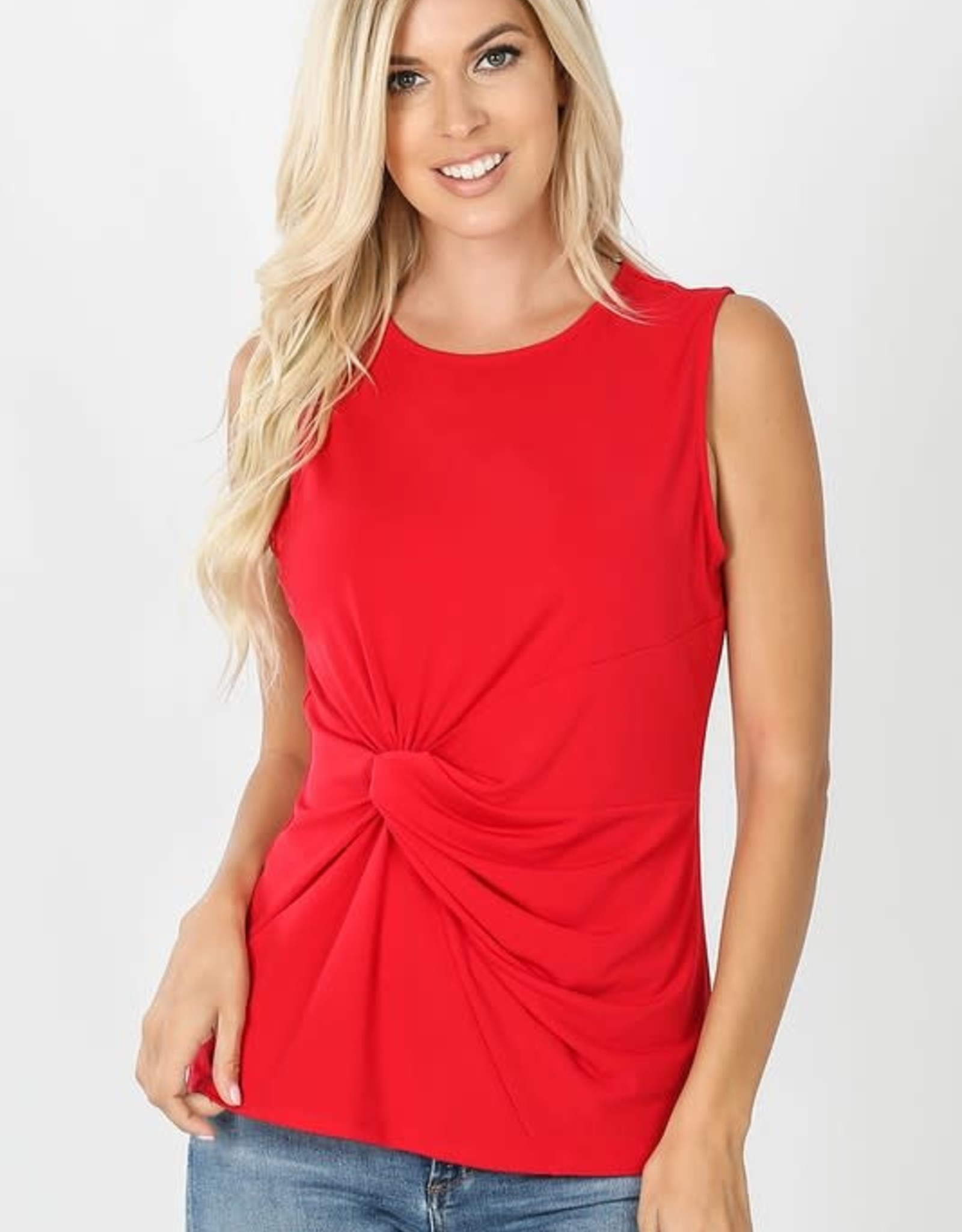 - Ruby Tank w/Knot Front