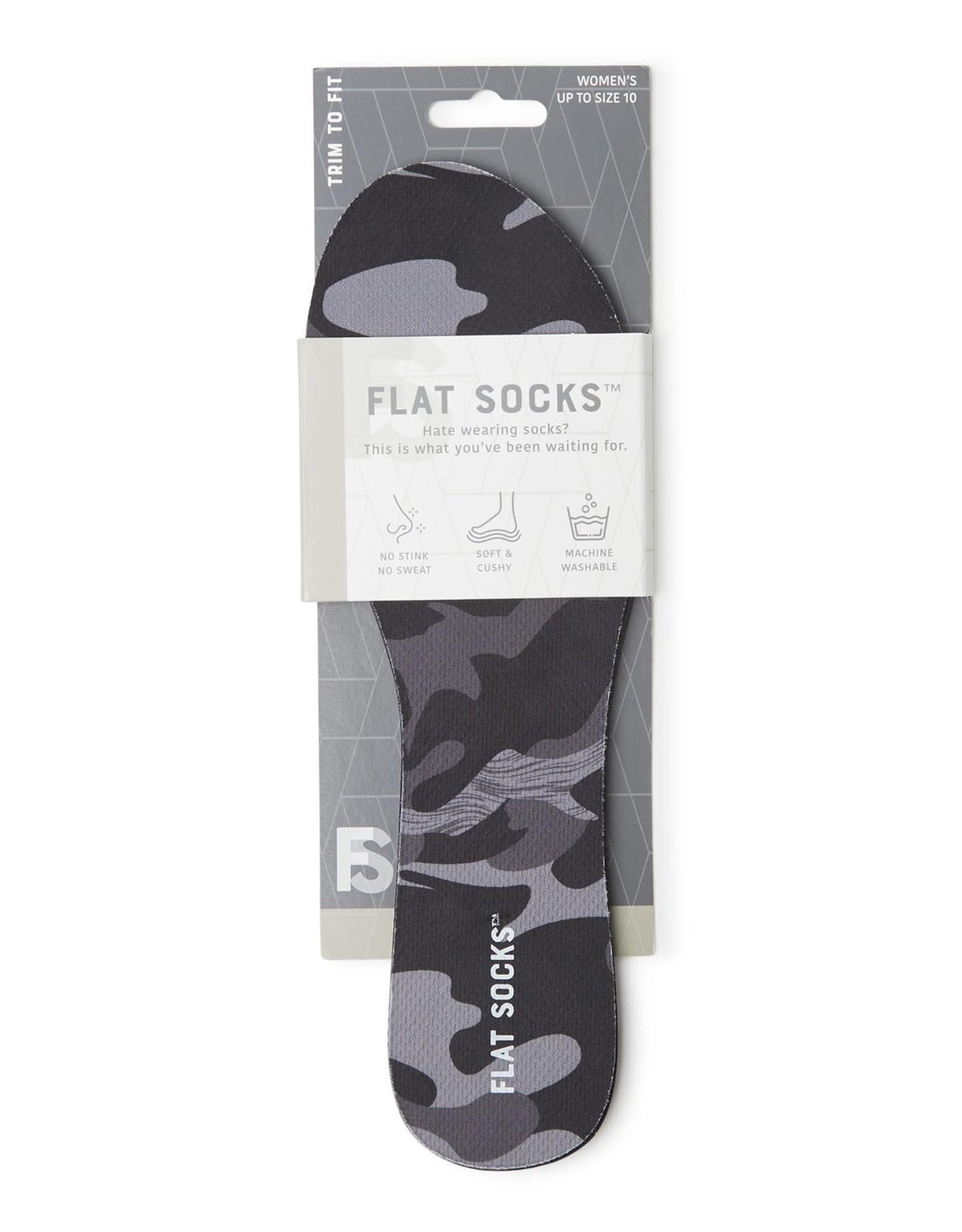 - Black Camo Flat Socks