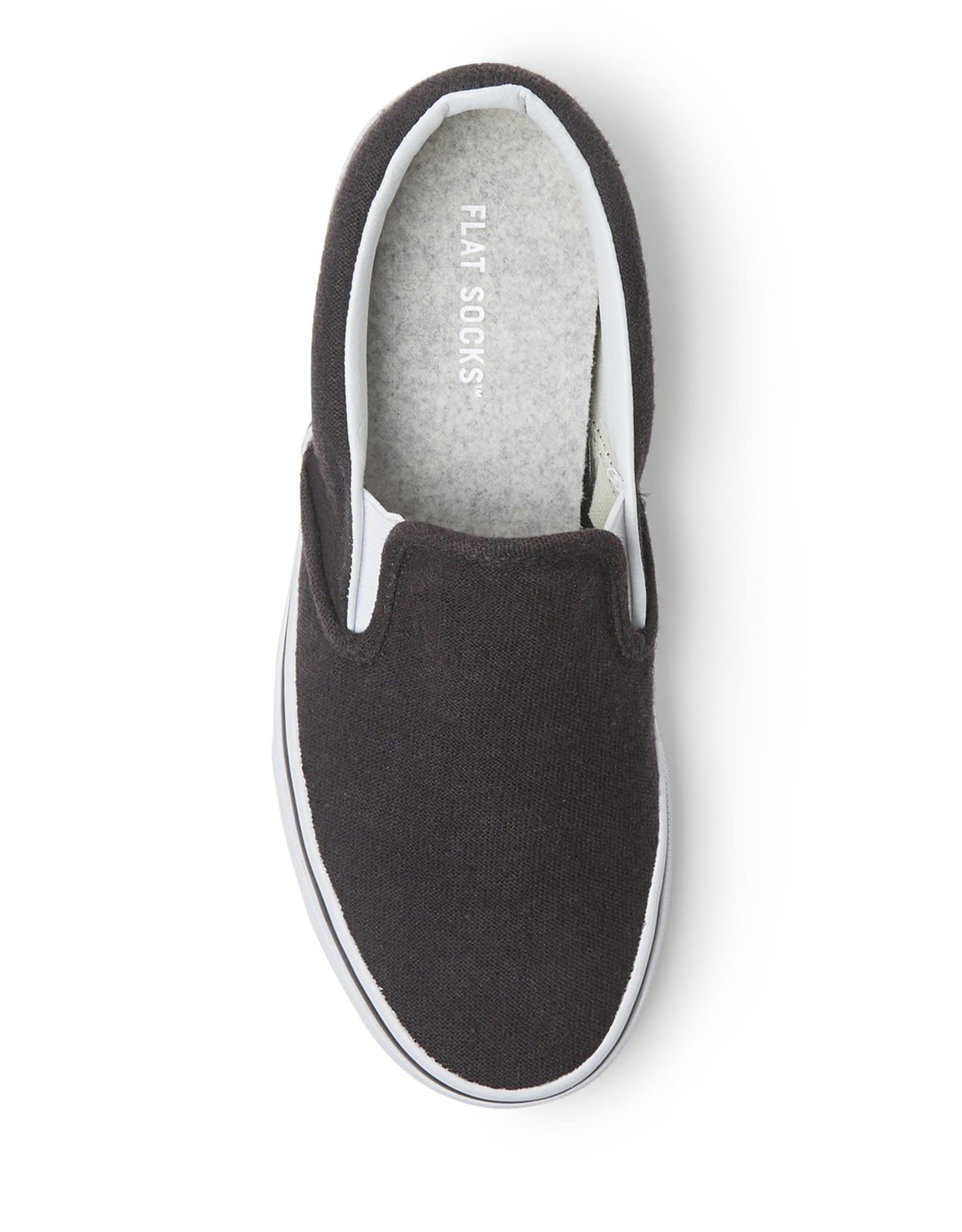 - Light Heather Grey Flat Socks