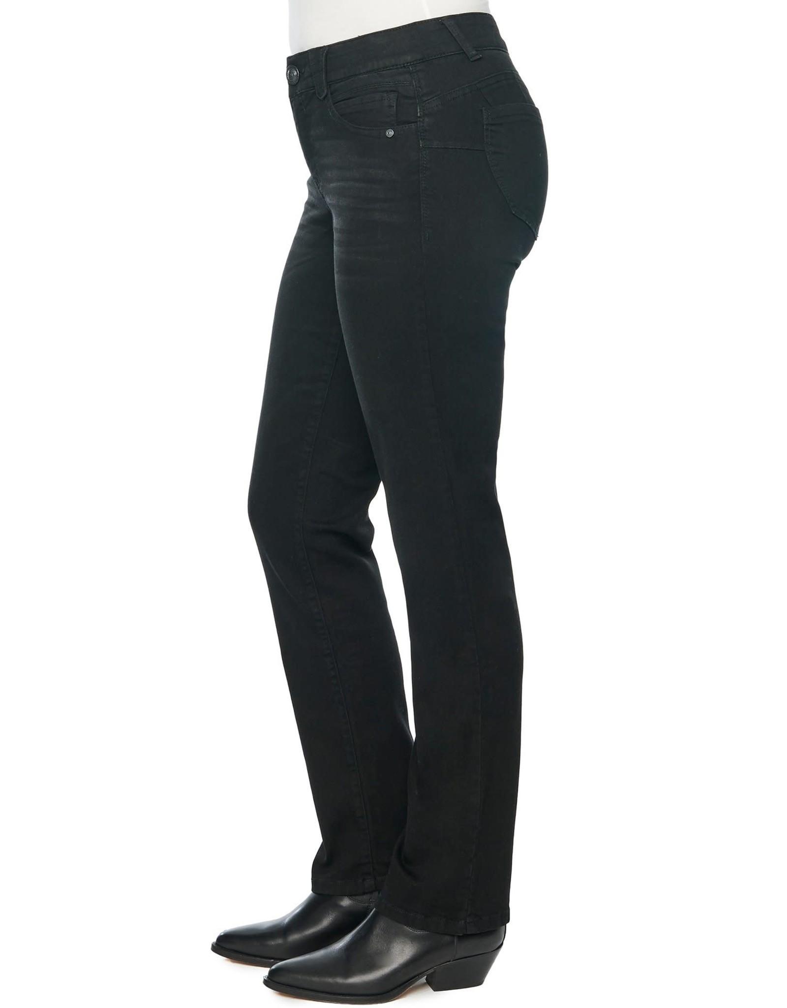 Democracy Black Straight Leg Jean