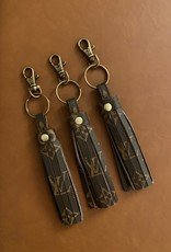 - Upcycled Louis Vuitton Tassel Keychain