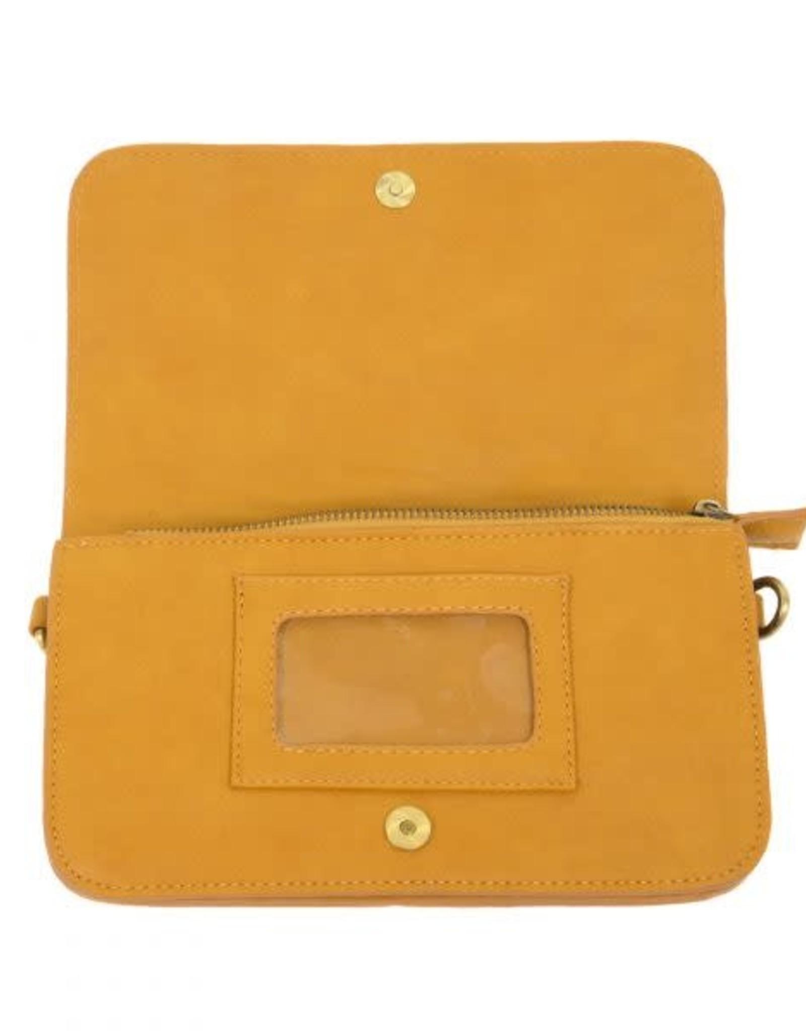 - Amber Multi Pocket Crossbody Clutch