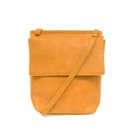 Butterscotch Front Flap Crossbody Bag
