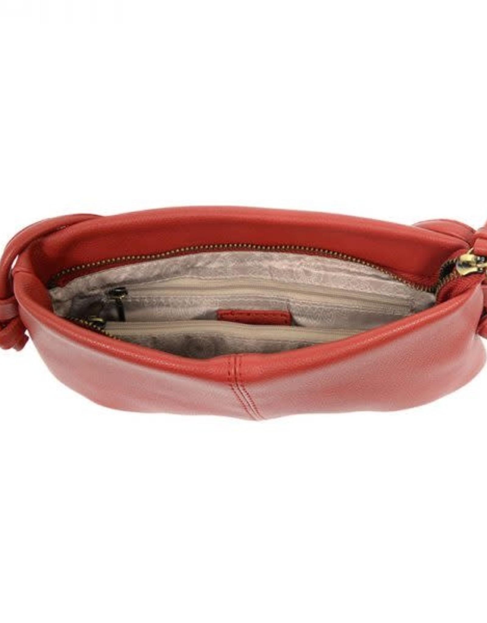 - Red Crossbody Cinch Bag