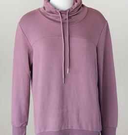 - Muave Cowl Neck Sweatshirt