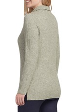 Tribal Sage Long Sleeve Cowl Neck Top