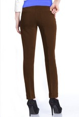 - Chocolate Pull-On Ankle Pant