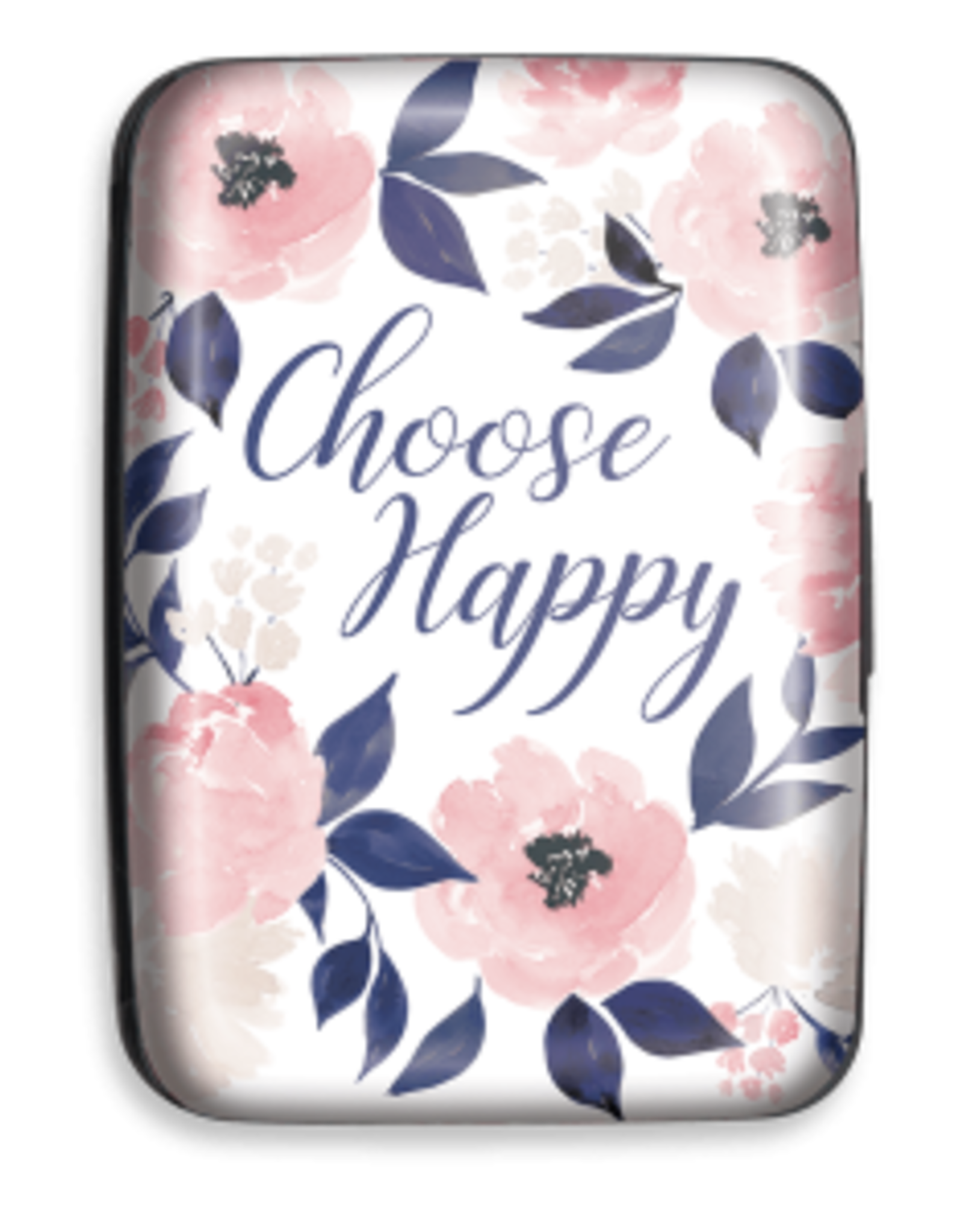 Credit Card Case Indigo Floral