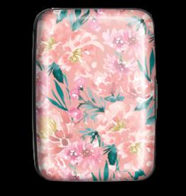 Credit Card Case Coral Floral