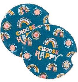 - Choose Happy Car Coasters