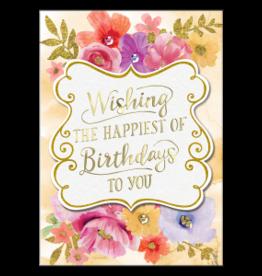 - Happiest of Birthdays Greeting Card