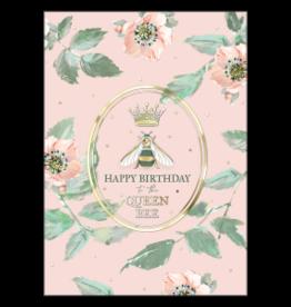 - Queen Bee Birthday Card