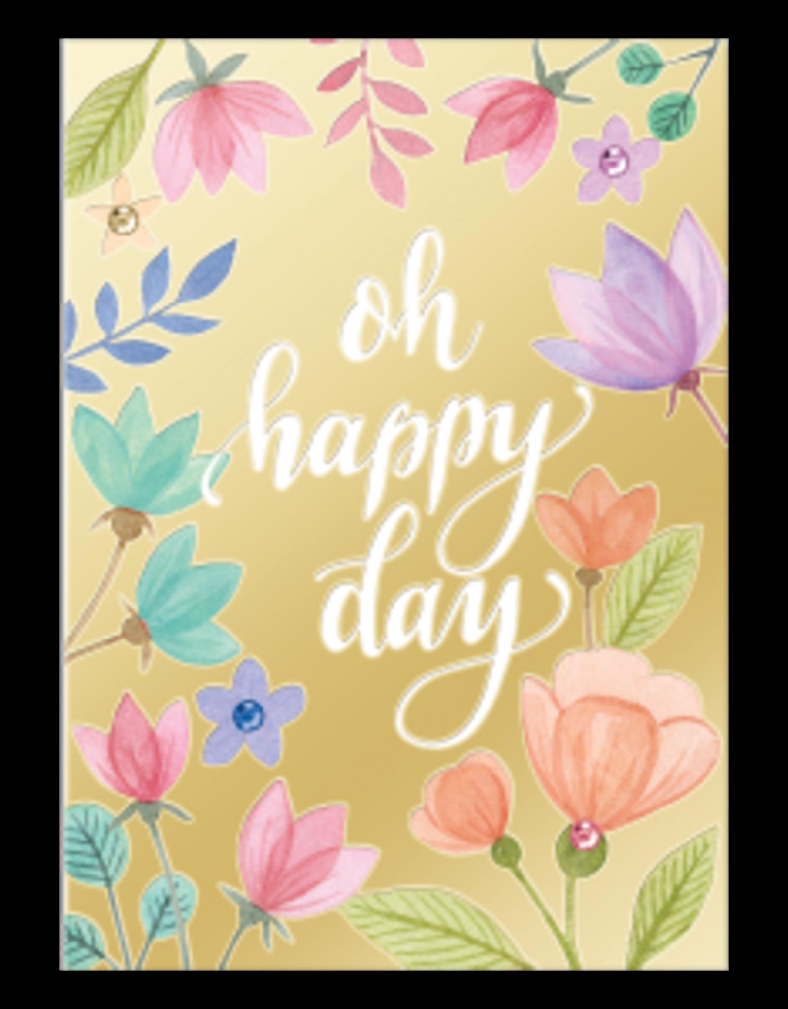 - Oh Happy Day Birthday Card