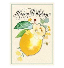 - Sweet Lemon Birthday Card