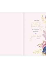- You Are a Blessing Dimensional Birthday Card