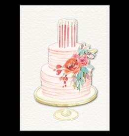 - Birthday Cake Card