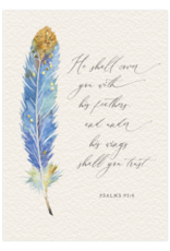 - Psalms 91:4 Thinking of You Card