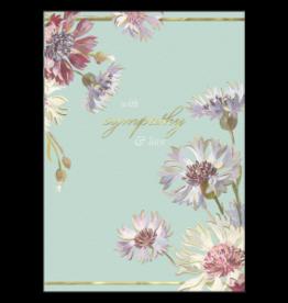 - Wildflowers Sympathy Card