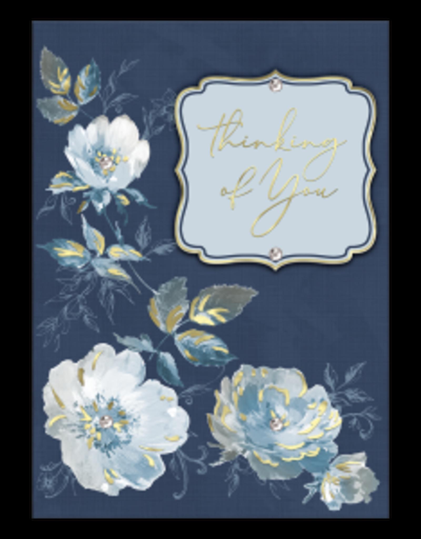 - Indigo Hues Thinking of You Card