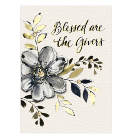 - Blessed are the Givers Thank You Card