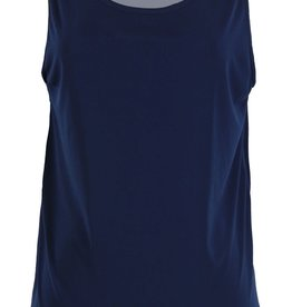 - Solid Navy Classic Tank Top