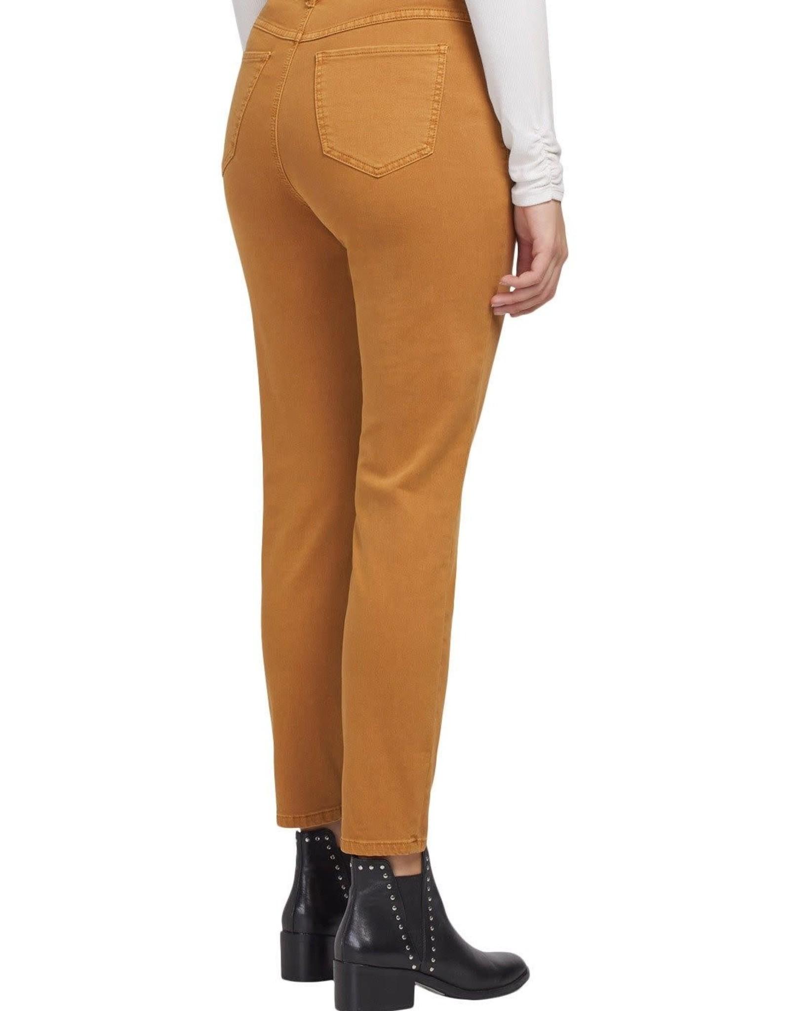 Tribal Golden Mustard Ankle Skinny Jean